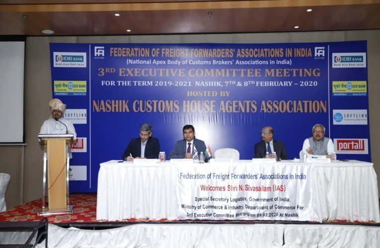 Huge potential for Custom brokers to explore in Logistics: Special Secy(logistics) at FFFAI's 3rd Executive Committee Meet