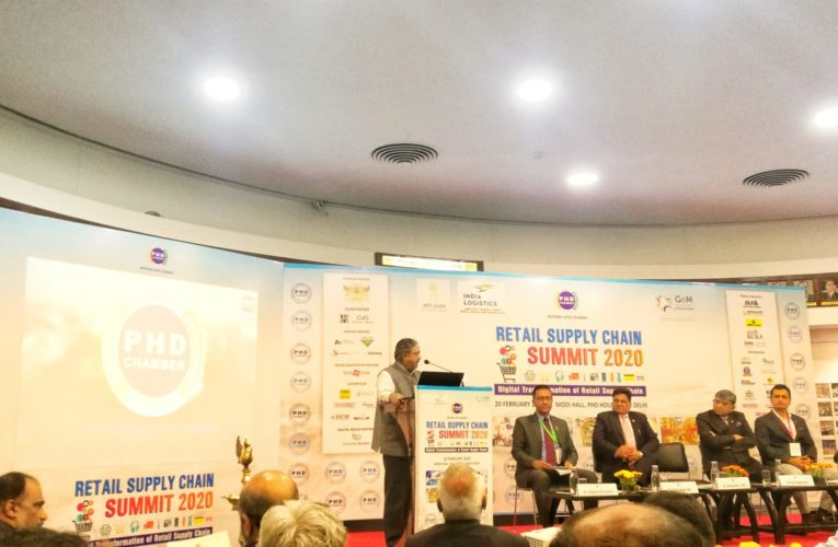 GST has changed the scenario of retail businesses forever: Spl. Secy (Logistics) during PHD Chamber's Retail Supply Chain Summit 2020