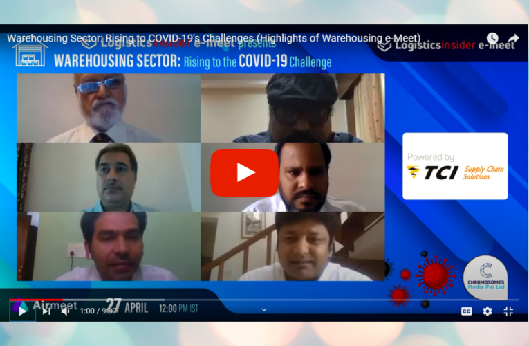 Logistics Insider's Warehousing e-Meet: Experts discuss the roadblocks and revival strategies for the sector