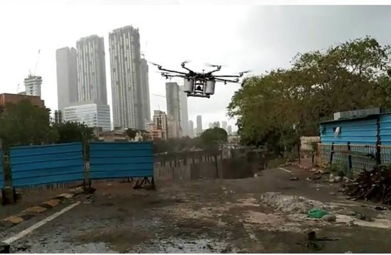 Embassy Services joins hands with BMC to launch Drone Disinfection Drive in Mumbai