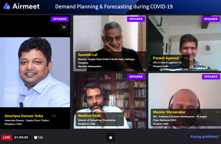 Demand Planning E-Meet: Experts talk about Structural Reforms and the Way Forward